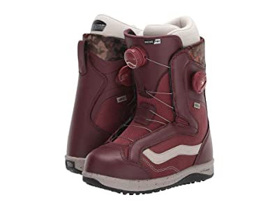 Vans Encore Pro Snowboard Boots (Andorra Red/Cashmere) Women