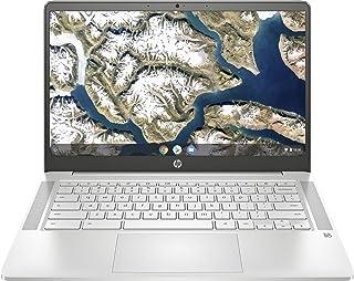 HP Chromebook 14a-na0020ca 14'' Laptop, Intel Pentium Silver N5000, 4GB RAM, 64GB eMMC, Mineral Silver - 9VU03UA#ABL