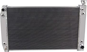 ALLOYWORKS 3 Row Radiator Aluminum for 88-95 Chevy/GMC C/K Series Pickup,1992 93 Suburban V8 Engines PRO