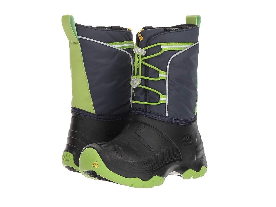 Keen Kids Lumi Boot WP (Little Kid/Big Kid) (Blue Nights/Greenery) Boys Shoes