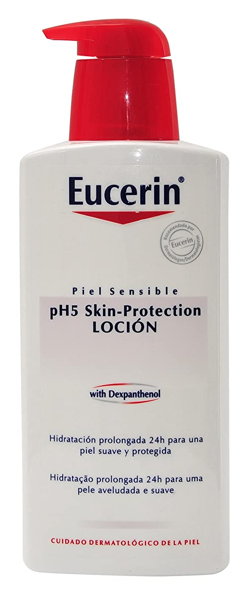 振る舞い安心初期EUCERIN pH5 Intensive lotion m. P.