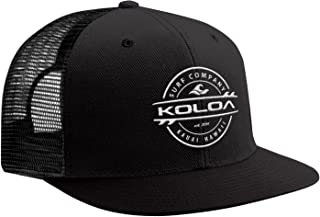Joe's USA Koloa Surf - Thruster Surfboard Logo Mesh Back Trucker Hats in 15 Colors.