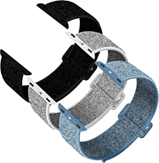 INTENY Sport Band Compatible for Apple Watch 38mm 40mm 42mm 44mm, Soft Lightweight Breathable Sport Band, Strap Replacement for iWatch Series 5, 4, 3, 2, 1