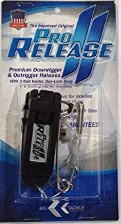 Big C Tackle Pro Release II Downrigger Release, Great for Braid and Mono