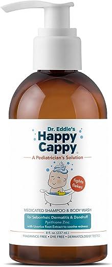 Dr. Eddie's Happy Cappy Medicated Shampoo for Children, Treats Dandruff and Seborrheic...