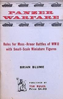 panzer miniatures rules
