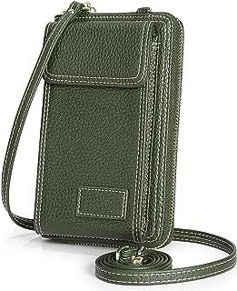 MOCA Girls Women Women's wallet sling bag for with Mobile Cell Phone holder Pocket Wallet Hand Purse Clutch Crossbody Sling Bag with Mobile Cell Phone wallet for Women Womens Girls