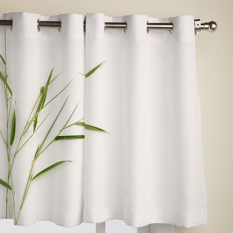 Olivefox Semi-Blackout Grommet Curtains 新作アイテム毎日更新 Darkening W Room Drapes 国内在庫