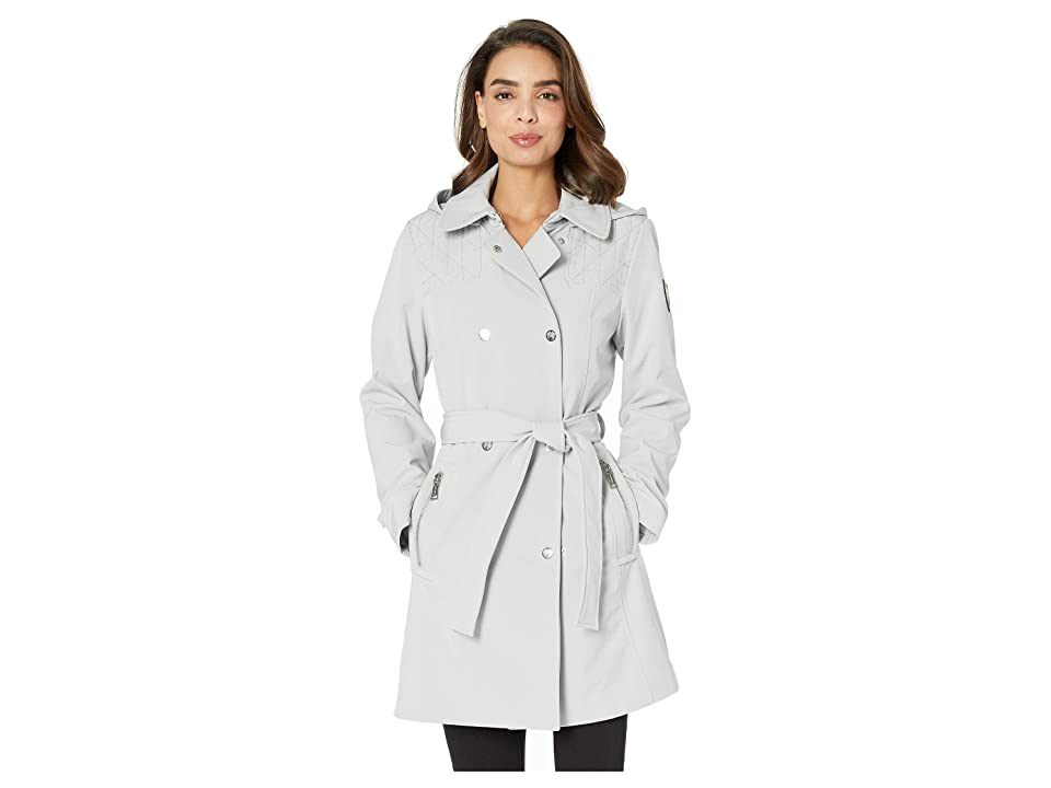 Vince Camuto Hooded Softshell Jacket V19731 (Silver Grey) Women