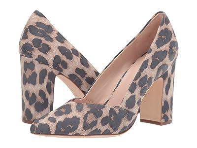 Loeffler Randall Paulina Pointy Toe Pump (Leopard Suede) Women