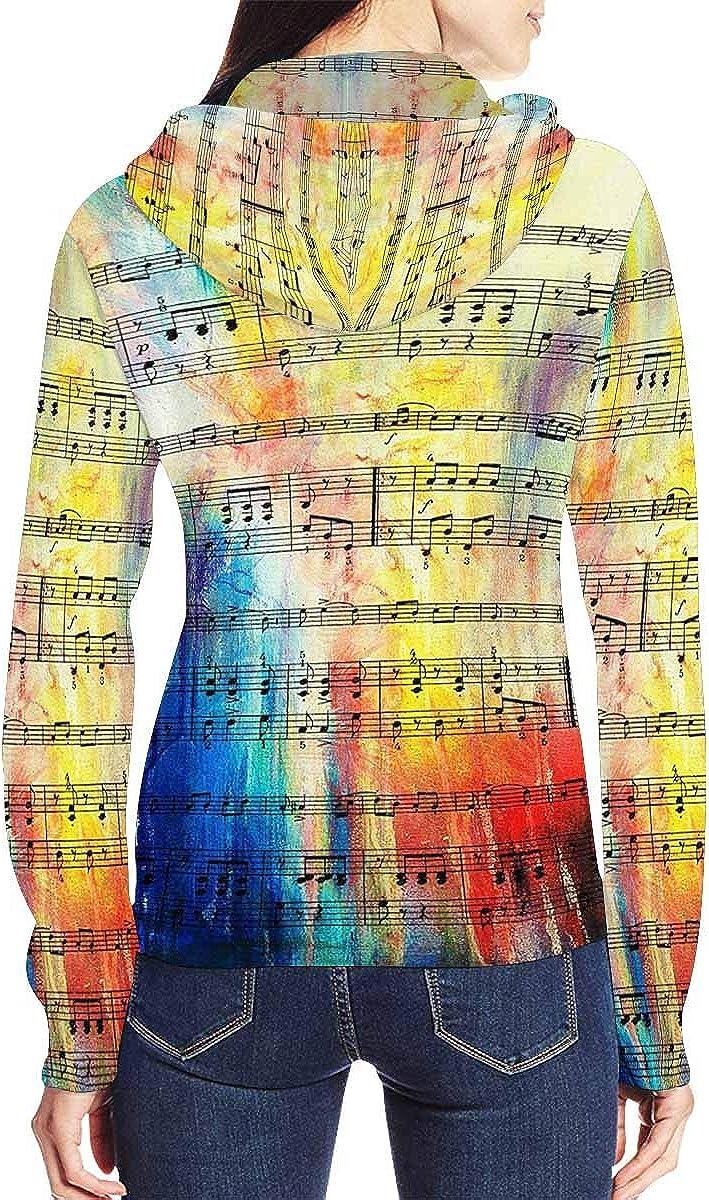 InterestPrint Women's Casual Full Zip Hoodie Long Sleeve Sweatshirt Vintage Floral Butterfly