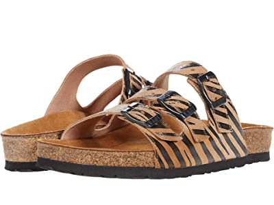 Naot Austin (Tan Zebra Leather) Women