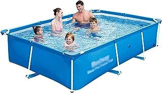 Inflatable Pool, Swimming Pool Inflatable Swimming Pool Bracket Adults Large Bathtub Courtyard Outdoor Foldable Bathtub (C...