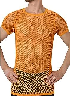 rasta fishnet shirt
