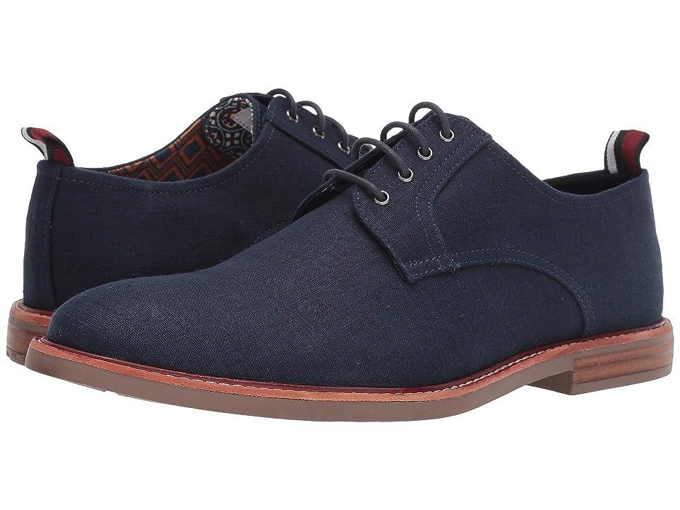 Ben Sherman Brent Plain Toe (Navy Linen) Men