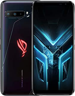 ASUS ROG Gaming Phone 3 (Strix Edition) ZS661KS Dual-SIM 256GB ROM + 8GB RAM Factory Unlocked 5G Smartphone (Black) - Inte...