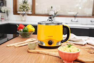 Clearline 8-in-1 Multi-cook Kettle : Vibrant Yellow Colour - One Appliance : Multiple Function