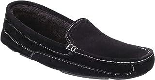 Samuel Windsor Men's Handmade Suede Leather Moccasin Slippers