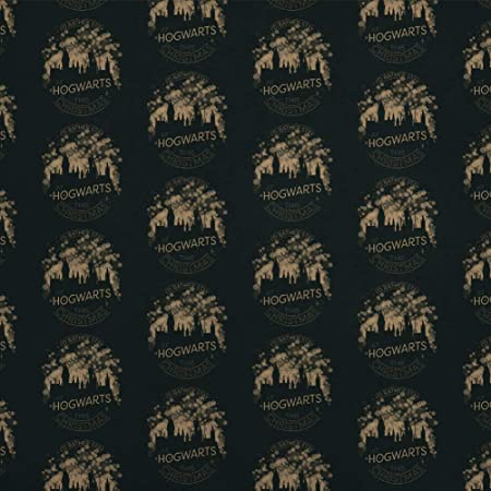 Harry Potter Hogwarts for Christmas Premium Gift Wrap Wrapping Paper Roll
