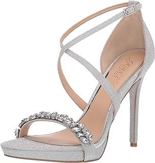 5e89d1d15 Amazon.ca  Silver - Heeled   Sandals  Shoes   Handbags