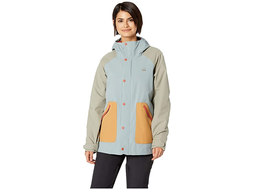 Burton Eastfall Jacket (Abyss/Hawk/Camel) Women