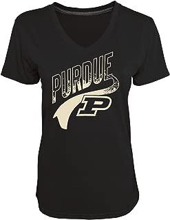 NCAA Women's Heather Jersey V-Neck T-Shirt