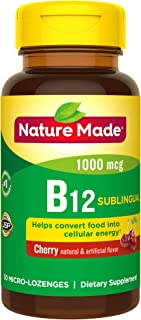 Best nature made sublingual b12 1000 mcg Reviews