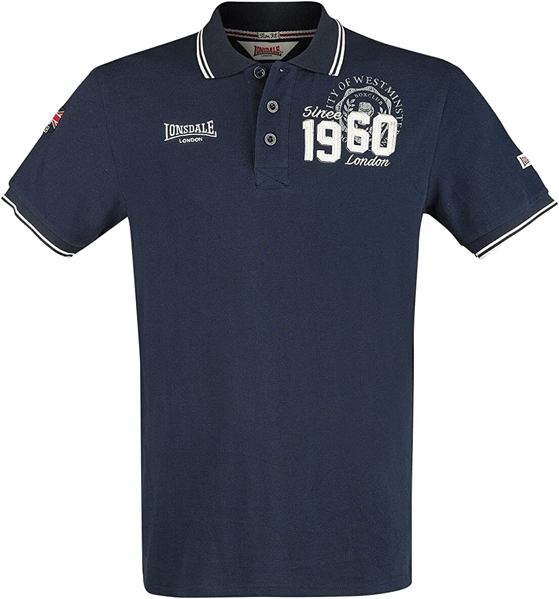 Free 67% OFF of fixed price shipping New Lonsdale Men Polo Shirt Fakenham