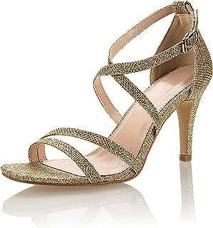 JSUN7 Women's Fashion Stiletto High Heel Sandal Pump Shoe