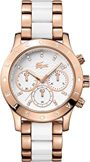 Lacoste Women's 2000911-CHARLOTTE White/Gold Watch