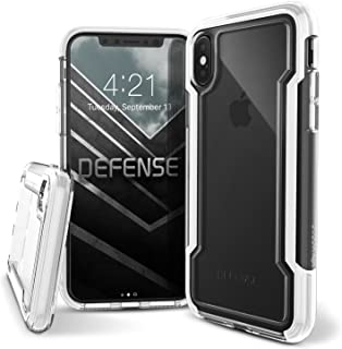 X-Doria iPhone X Case, Defense Clear Series - Military Grade Drop Protection, Clear Protective Case for iPhone X (White)
