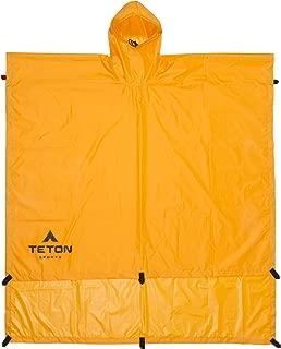 TETON Sports Tarp/Shelter/Poncho