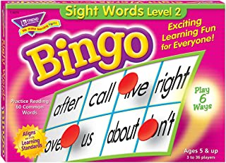 Best sight words level 2 bingo game Reviews