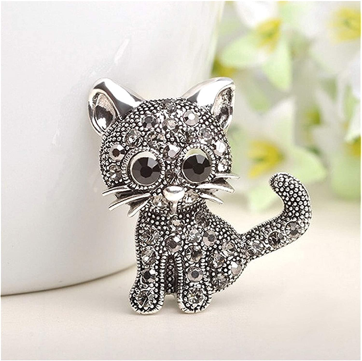 unisex YUMYANJIN Brooch Cute Cat Clothes Garment Pin Discount mail order Suit Women