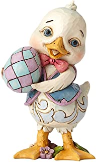 Jim Shore Heartwood Creek Collection Pint Sized Duck Holding Egg
