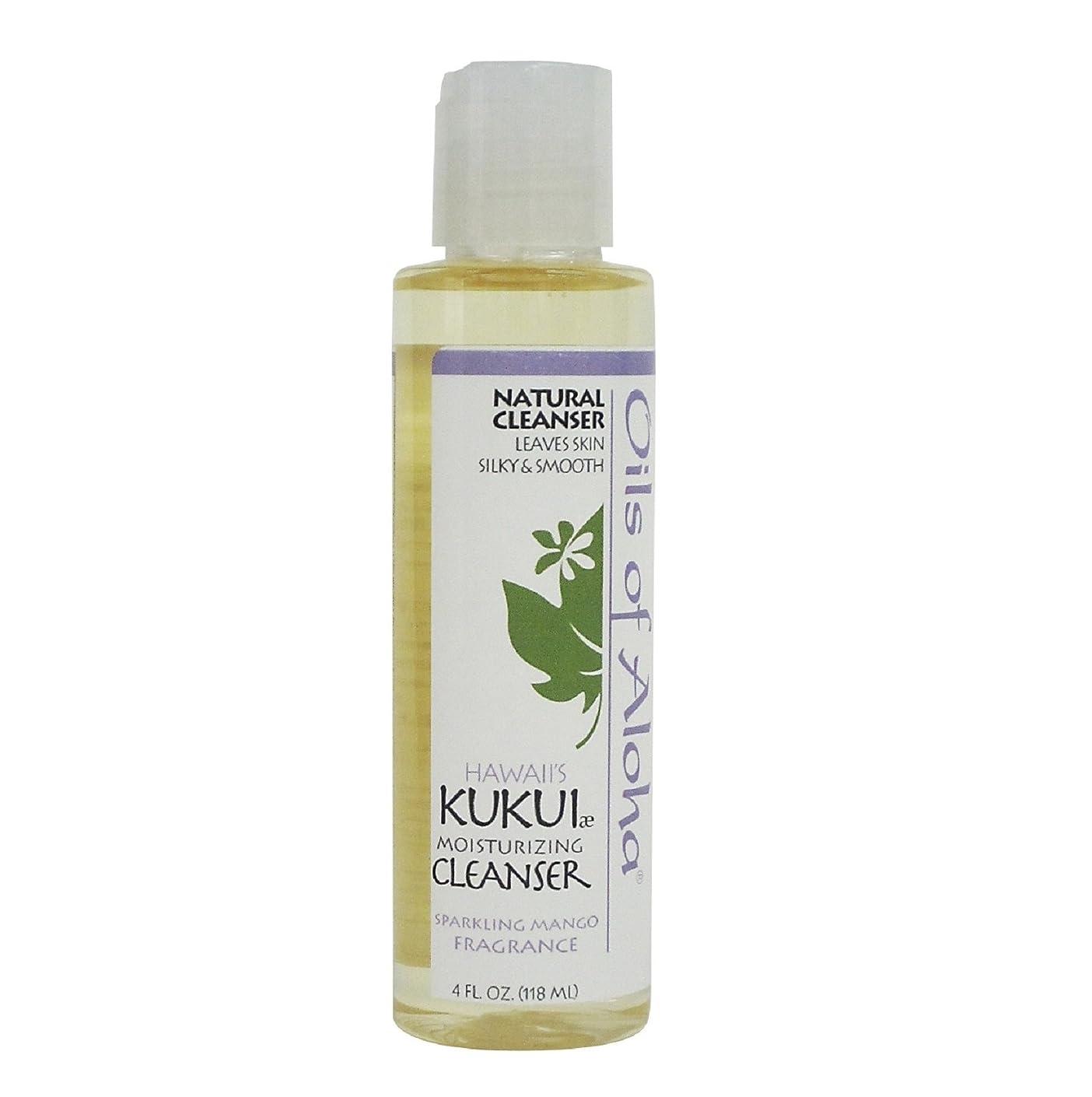 パックヘビー経験的Kukui Moisturizing Cleanser/118ml/4oz/クレンジングオイル