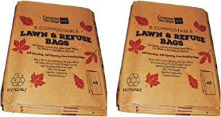 10 Paper Lawn and Leaf Bags (30 gallon)