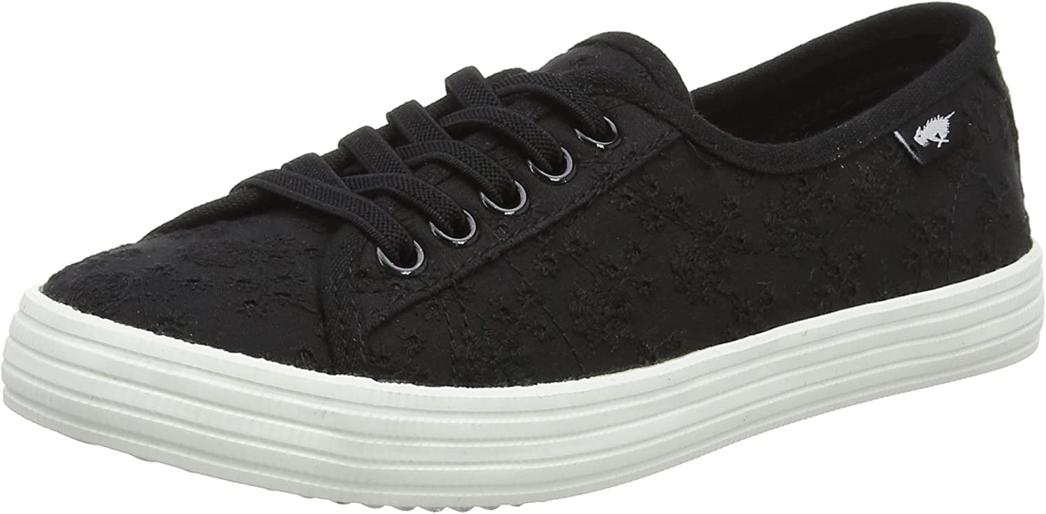 Rocket Dog Womens Chow Chow Lucky Eyelet Lace-Up Trainer