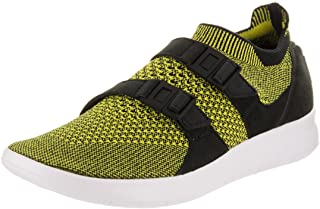 Nike Women's Wmns Air Sockracer Flyknit, BLACK/WHITE-YELLOW STRIKE