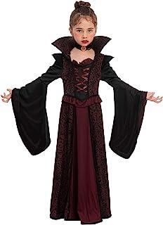 Royal Vampire Costume Set for Girls Halloween Dress Up...