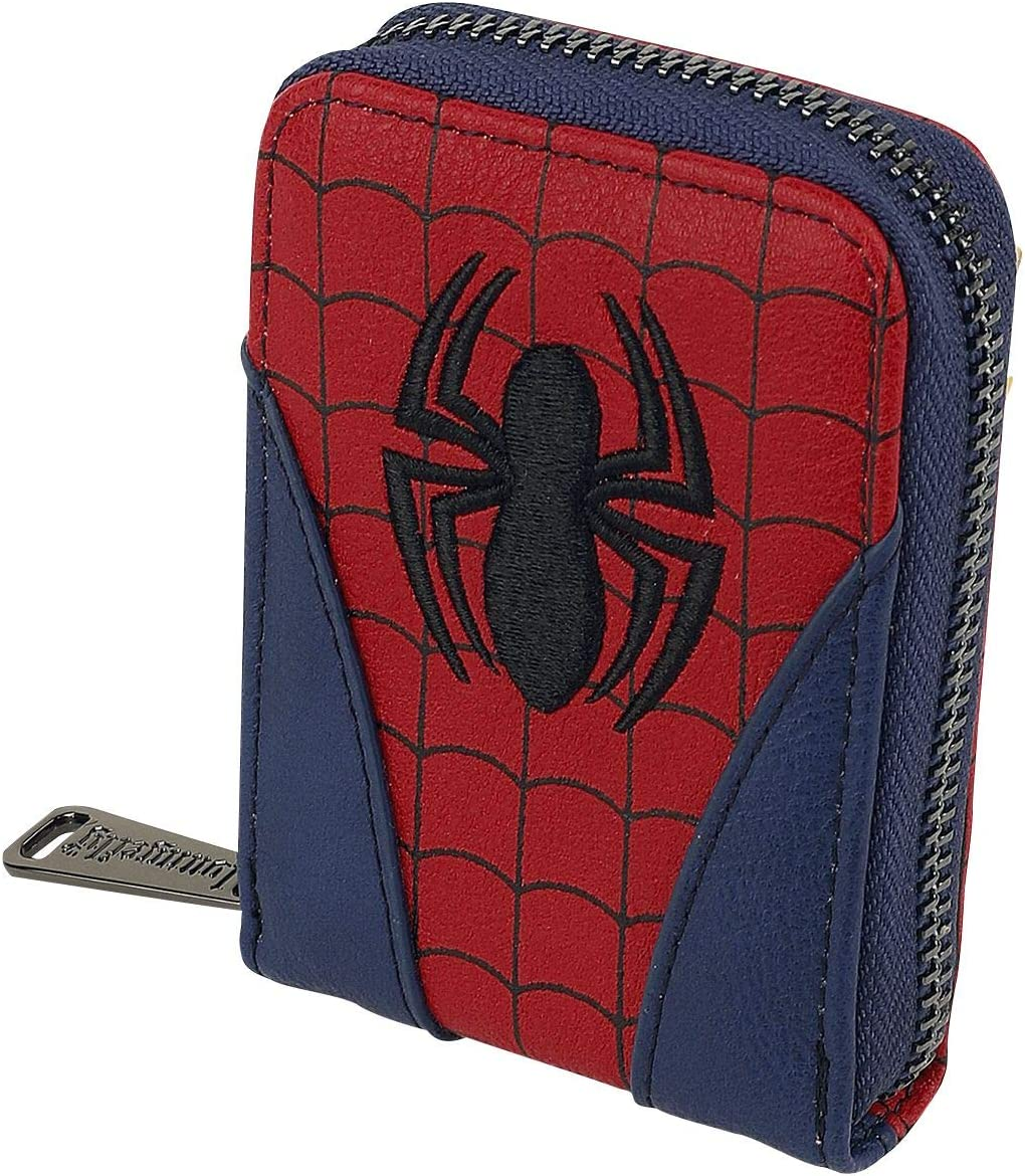 Loungefly New Free Shipping Marvel Spider-Man Wallet Classic Los Angeles Mall Accordion