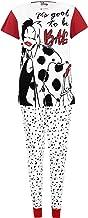 Disney 101 Dálmatas - Pijama para Mujer - 101 Dalmatians Cruella De Vil