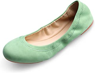 Women's Chaste Ballet Flat Lambskin Loafers Casual Ladies Shoes Leather