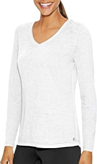 Champion Women's Authentic Wash Long Sleeve Tee