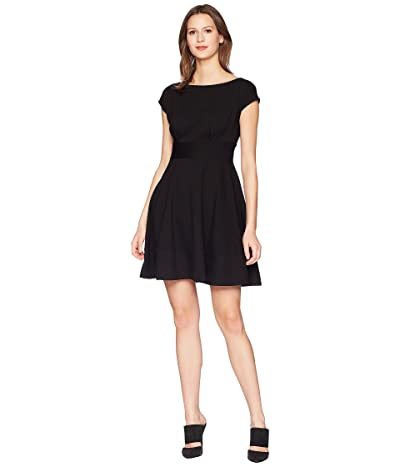 Kate Spade New York Ponte Fiorella Dress (Black) Women