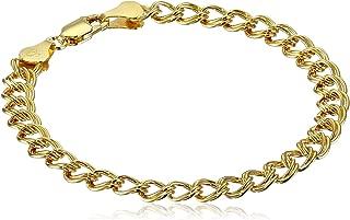Best gold double chain bracelet Reviews