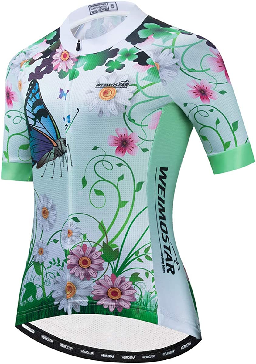 Hotlion 1 year warranty Cycling Jersey Women Short Top M Bicycle Sleeve Spring new work Clothing