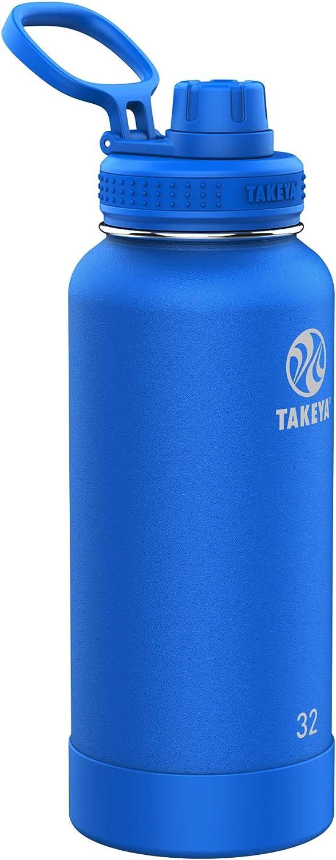 Takeya Actives Spout Bottle Cobalt, 32 oz