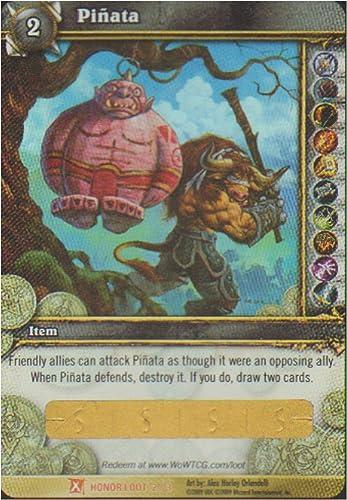 despacho de tienda Ogre Pinata Pinata Pinata WoW World of Warcraft Loot Card Fields of Honor [Toy]  Descuento del 70% barato