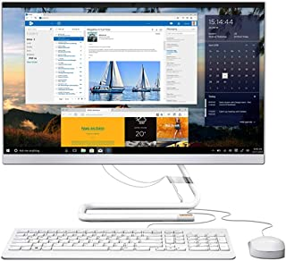 Lenovo IdeaCentre AIO340, All in One Desktop, 23.8 inch FHD Touch Display, Intel Core i5-10400T, 8GB RAM, 512GB SSD Storag...